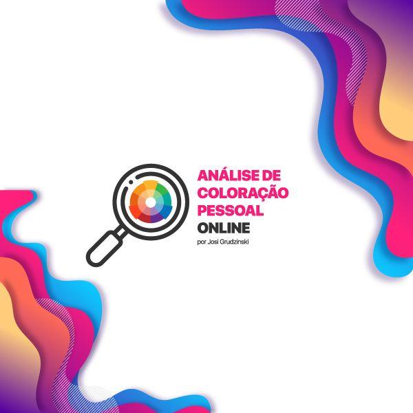 Imagem principal do produto  Análise de Coloração Pessoal Online por Josi Grudzinski
