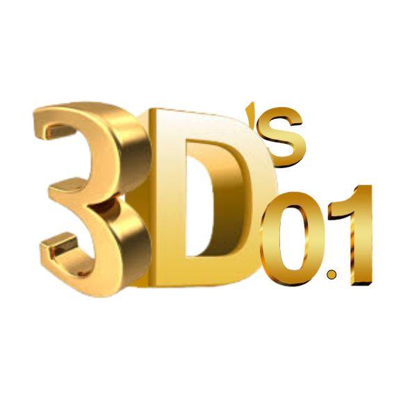 Imagem principal do produto 3D's