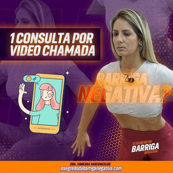 Imagem principal do produto Consulta Individual por Video Chamada - O segredo da Barriga Negativa