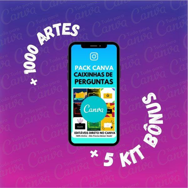 Imagem principal do produto Caixinhas de Perguntas - Artes Para Canva +1000Artes+5KitsBônus
