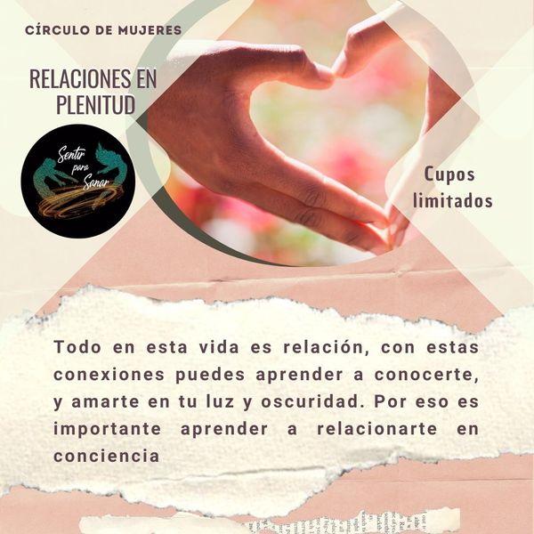 Imagem principal do produto Círculo de mujeres relaciones en plenitud