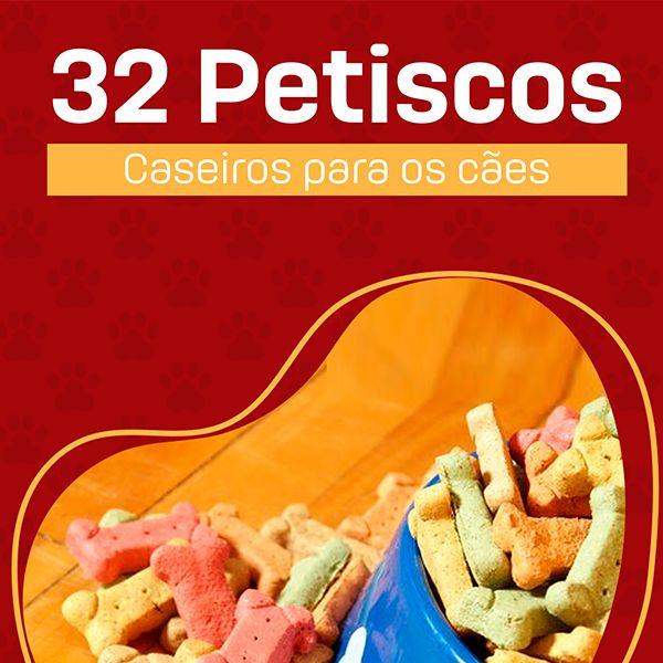 Imagem principal do produto 32 Receitas de Petiscos para os Cães