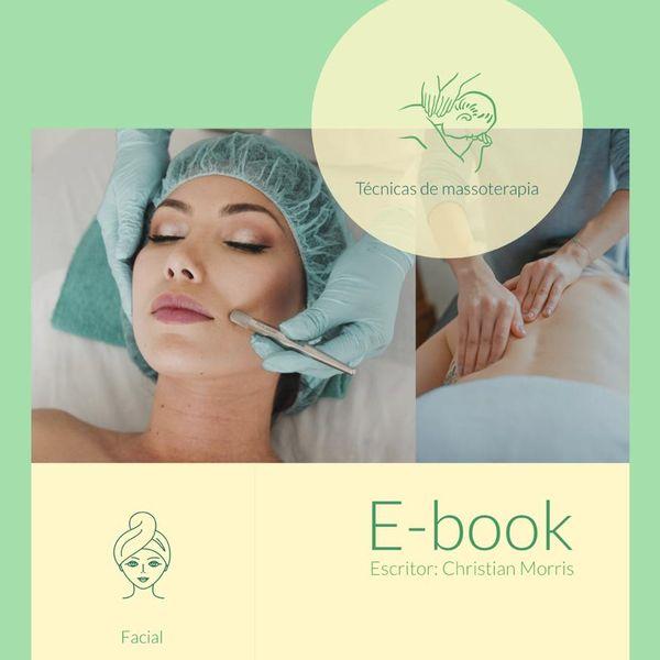Imagem principal do produto E-book Massoterapia a Saúde da Pele
