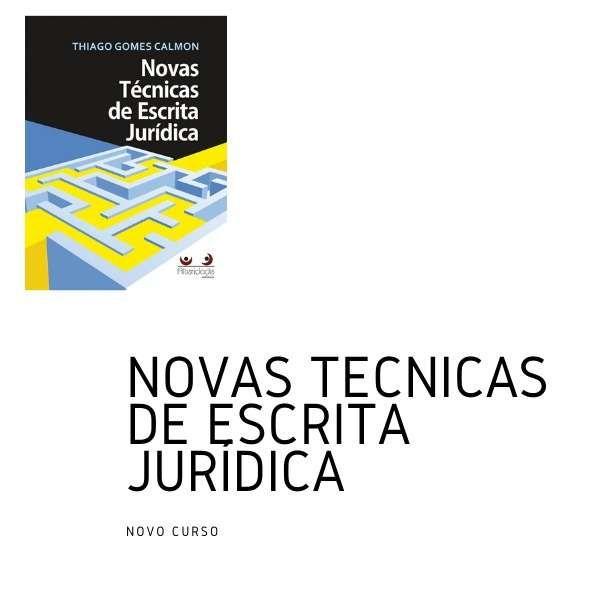 Curso: Novas Técnicas de Escrita Jurídica