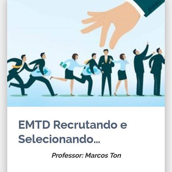 Imagem principal do produto Curso Recrutando e Selecionando Campeões de Vendas para PMES