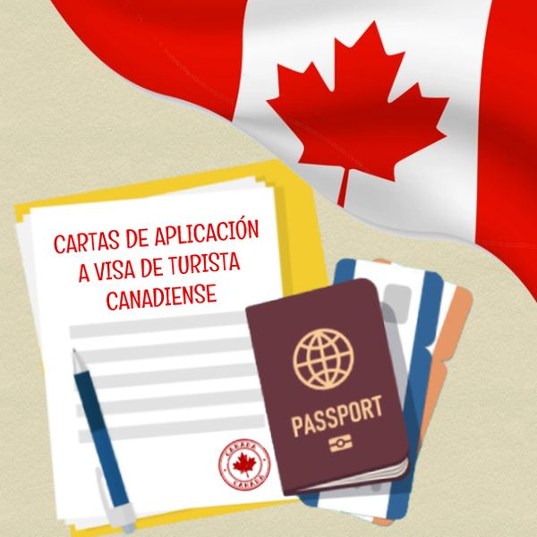Imagem principal do produto Cartas de Aplicación a la visa de Turismo a Canada