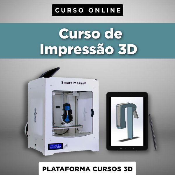 Imagem principal do produto Curso de Impressão 3D: Método 3.0