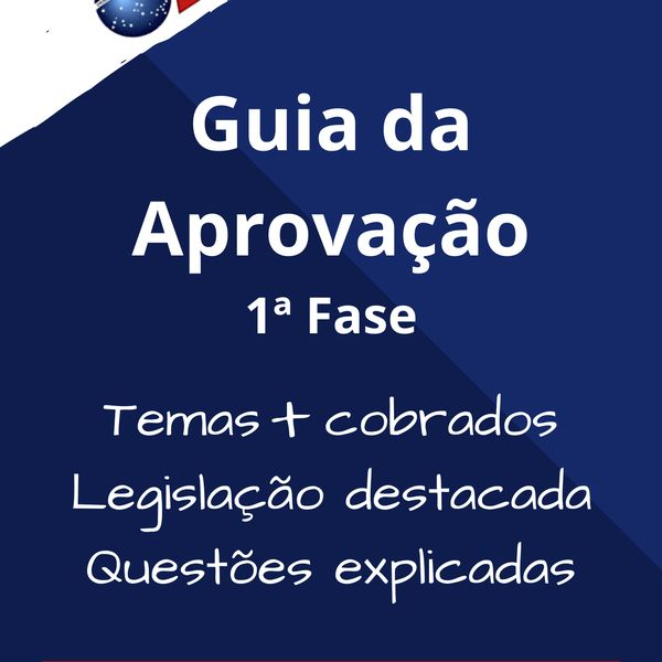 Imagem principal do produto Exame OAB - Guia da Aprovação