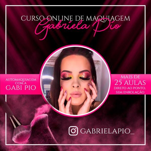 Imagem principal do produto Automaquiagem com a Gabi Pio