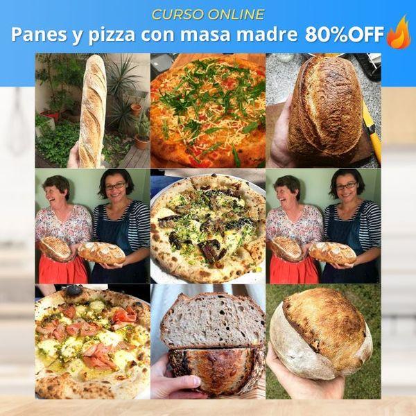 Imagem principal do produto Elaboración de panes y pizzas con Masa Madre