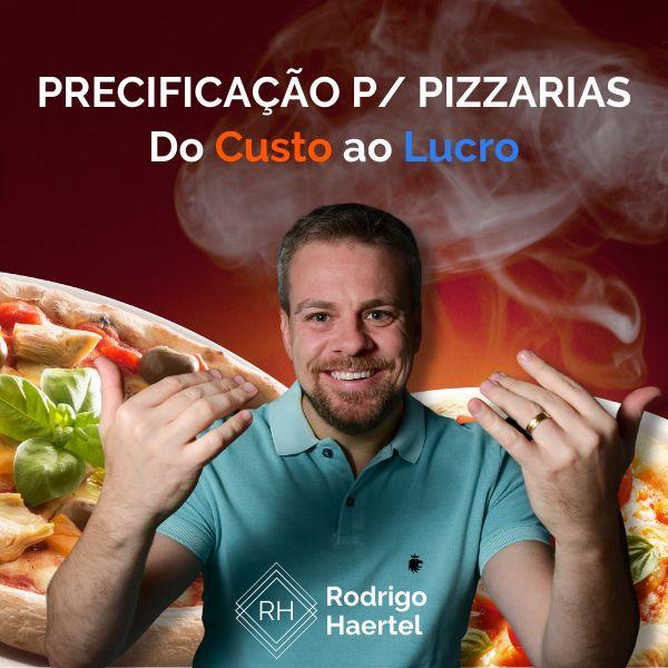 Imagem principal do produto Do Custo Ao Lucro   Precificação para Pizzarias