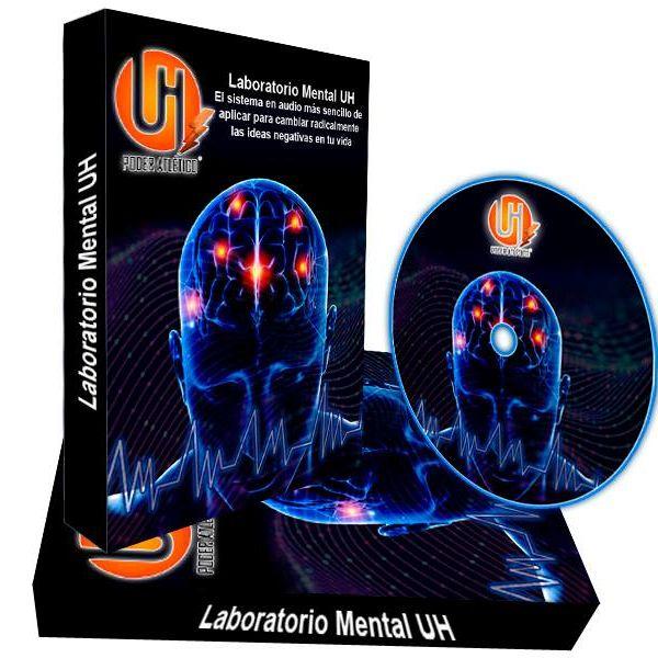 Imagem principal do produto Laboratorio Mental UH: el sistema en audio más sencillo de aplicar para cambiar radicalmente las ideas negativas en tu vida.
