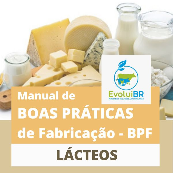Imagem principal do produto Manual de BPF - Boas Práticas de Fabricação - LÁCTEOS