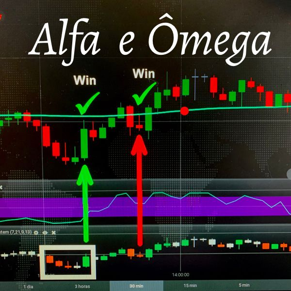 Imagem principal do produto Alfa e Ômega - Opções Binárias
