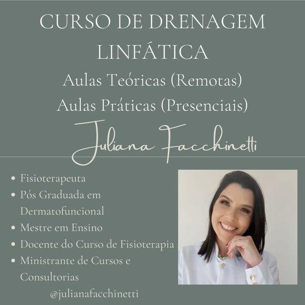 Imagem principal do produto CURSO DE DRENAGEM LINFÁTICA MANUAL