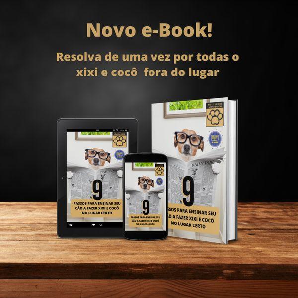 Imagem principal do produto 9 Passos para ensinar seu cão a fazer xixi e cocô no lugar certo