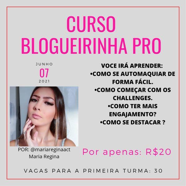 Imagem principal do produto Curso Blogueirinha Pro