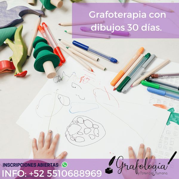 Imagem principal do produto Grafoterapia con dibujos durante 30 días.