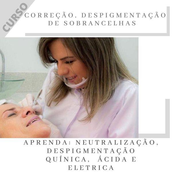 Imagem principal do produto CORREÇÃO E DESPIGMENTAÇÃO DE SOBRANCELHAS