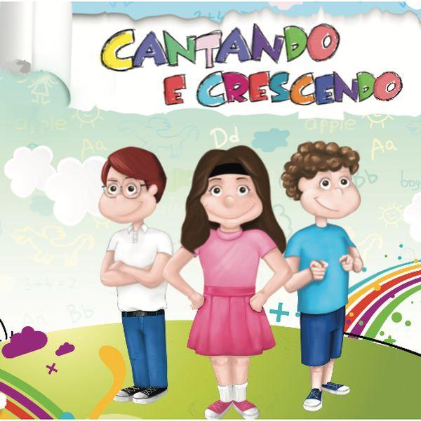 Imagem principal do produto Cantando e Crescendo - playback