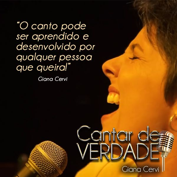 Imagem principal do produto CANTAR DE VERDADE