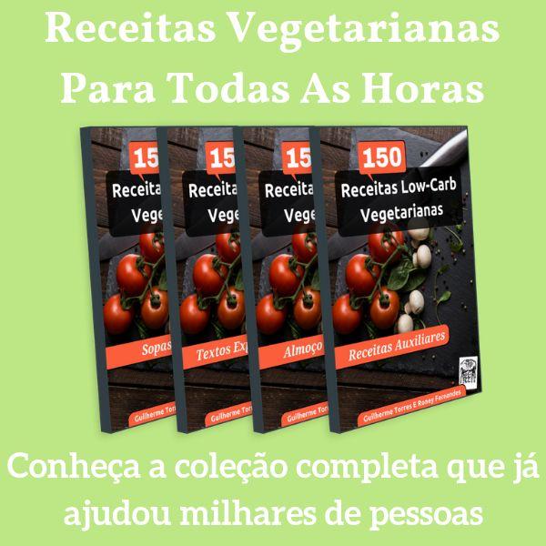 Imagem principal do produto Coletânea De Receitas Low-Carb Vegetarianas