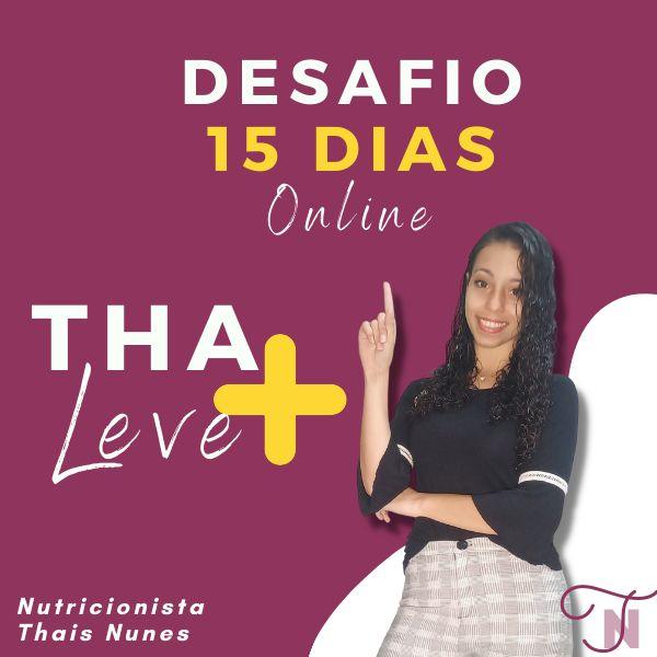 Imagem principal do produto Desafio  de 15 dias Online Tha + Leve