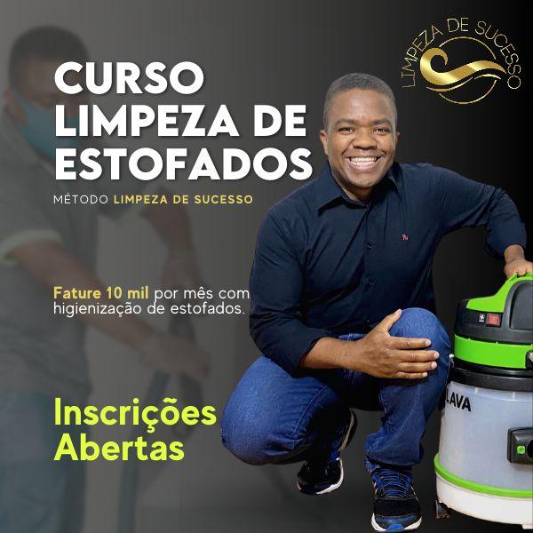 Imagem principal do produto CURSO LIMPEZA DE ESTOFADOS -Limpeza de Sucesso