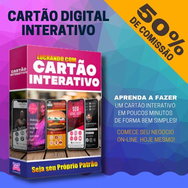 Imagem principal do produto Cartão Digital Interativo