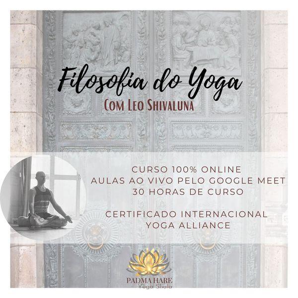 Imagem principal do produto Curso de Filosofia do Yoga