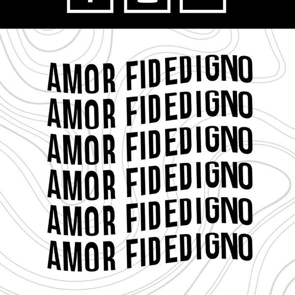 Imagem principal do produto Amor Fidedigno