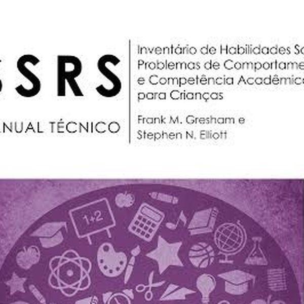 Imagem principal do produto Palestra - Avaliação Habilidades Sociais na Infância - Teste SSRS (Curso Restrito à Psicólogos)