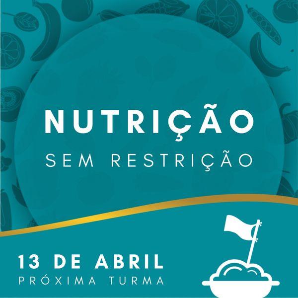 Imagem principal do produto Curso Online Nutrição sem Restrição