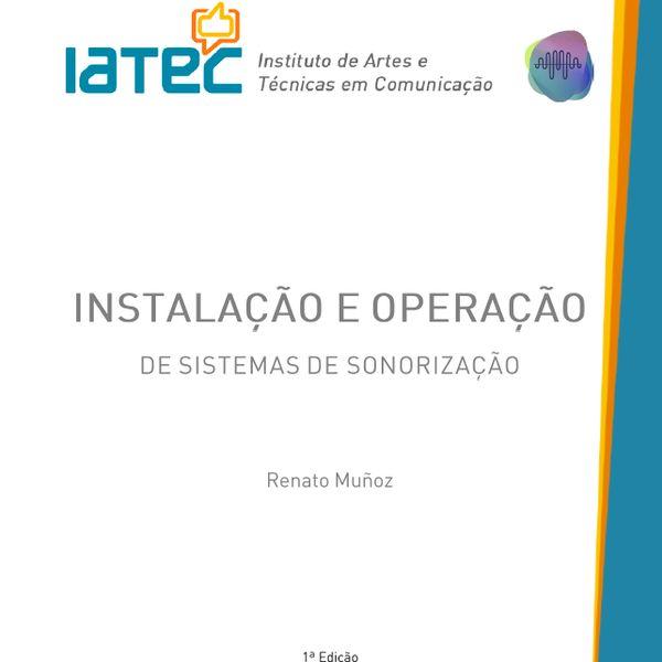 Imagem principal do produto E-Book Instalação e Operação de Sistemas de Sonorização