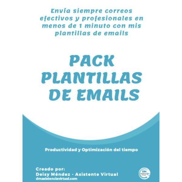 Imagem principal do produto Automatiza tu correo electrónico, con el pack de plantillas de emails