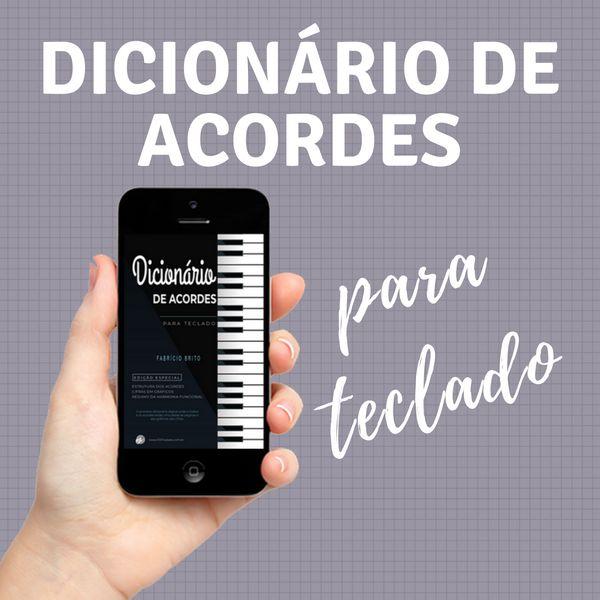 Imagem principal do produto Dicionário de Acordes Para Teclado