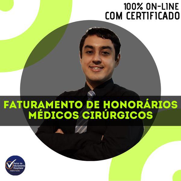 Imagem principal do produto Faturamento de Honorários Médicos Cirúrgicos
