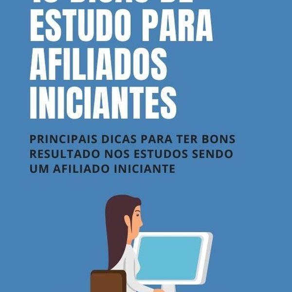 Imagem principal do produto 10 DICAS DE ESTUDOS PARA AFILIADOS INICIANTES