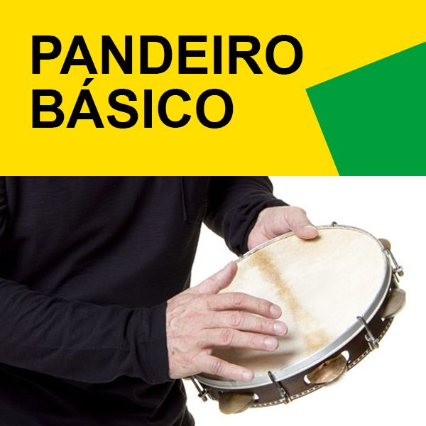 Imagem principal do produto Aula de Pandeiro Básico