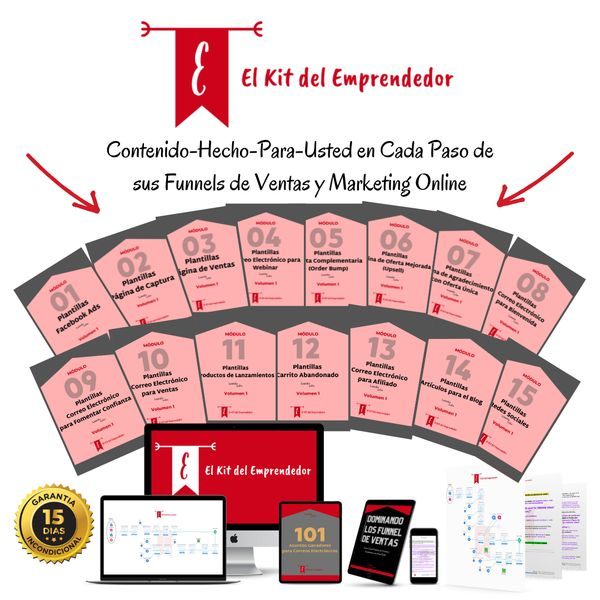 Imagem principal do produto El Kit del Emprendedor