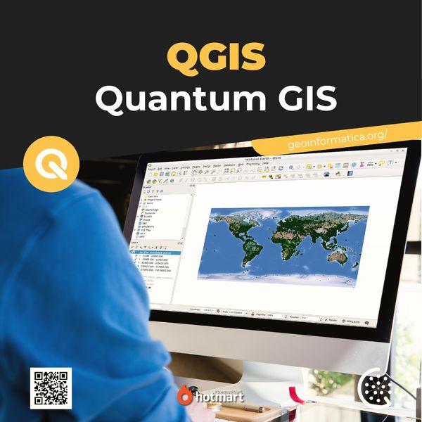 Imagem principal do produto QGIS