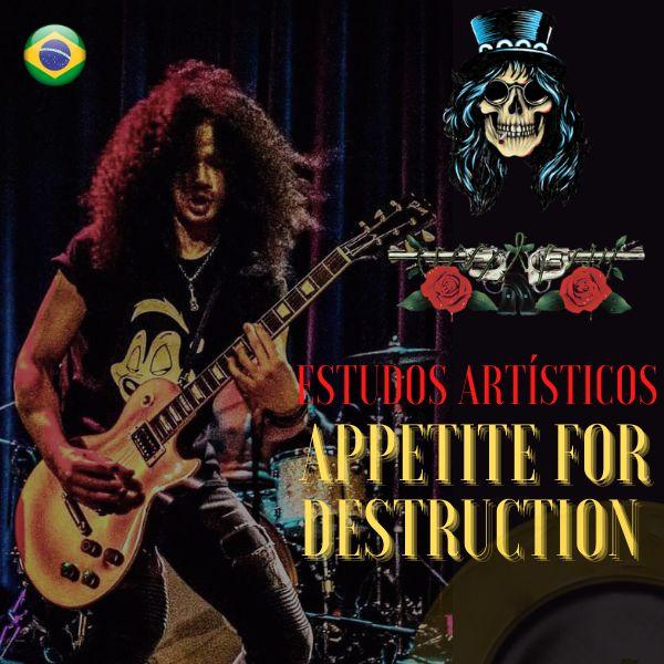 Imagem principal do produto Estudos artísticos: Slash - Appetite For Destruction
