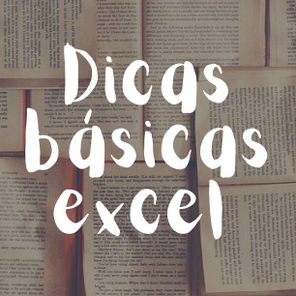 Imagem principal do produto Dicas Básicas Excel