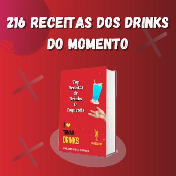 Imagem principal do produto 216 Receitas dos Drinks do Momento