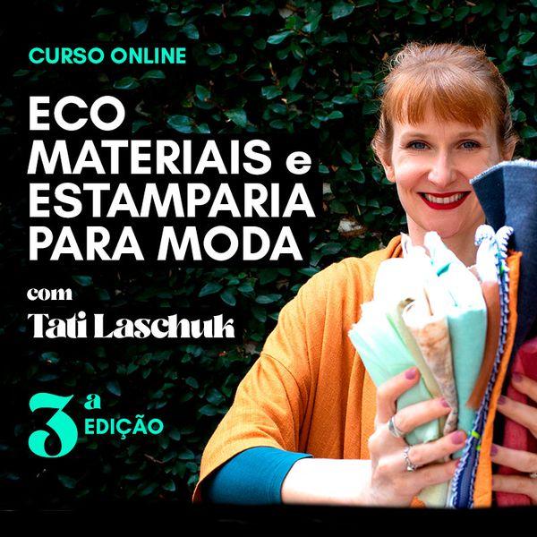 Imagem principal do produto ECO MATERIAIS e ESTAMPARIA para MODA