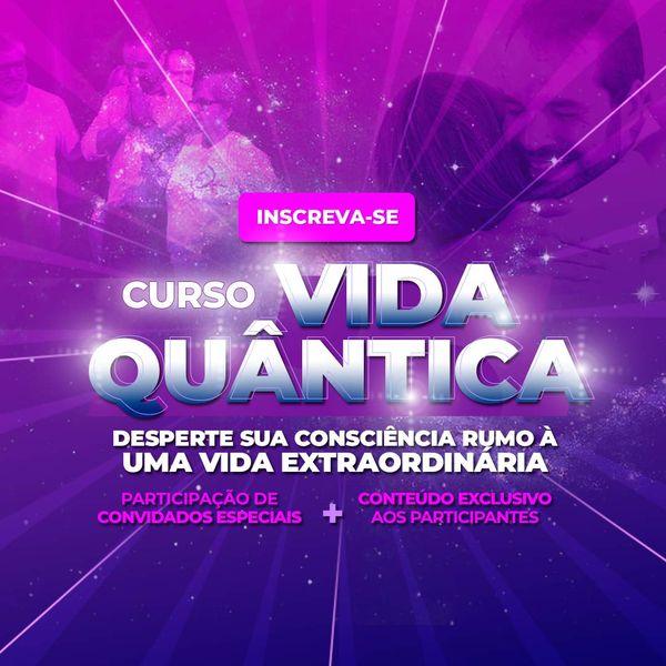 Imagem principal do produto 6 Dias gratuitos - Vida Quantica - Um Salto quântico rumo as suas conquistas