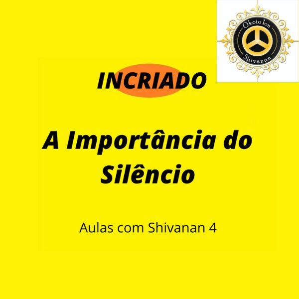 Imagem principal do produto A Importância do Silêncio