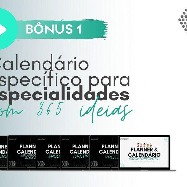 Imagem principal do produto Calendários Especialidades Odontológicas