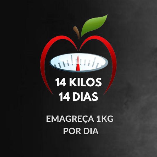 Imagem principal do produto 14 KILOS 14 DIAS - Emagreça 1kg por dia