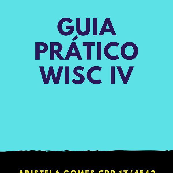 Imagem principal do produto Guia prático WISC IV